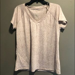 Juicy Couture T Shirt, Large, Brown/ Tan
